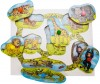 Bigjigs Jungle Lift and Look Chunky Board Puzzle