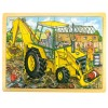 24pc Digger Puzzle in Tray