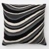 Zaida Monochrome Stripes Cushion Cover
